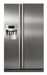 Fridges Amp Freezers Samsung Rs21dhtis Stainless Steel