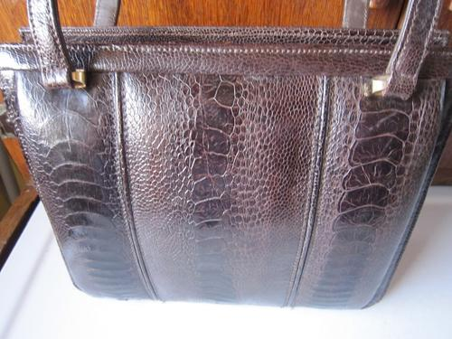 Wonderful Ostrich Leg Leather Handbag By The Famous Company Cape Cobra A Based In Town Who Are World Reknown For Quality Of Their