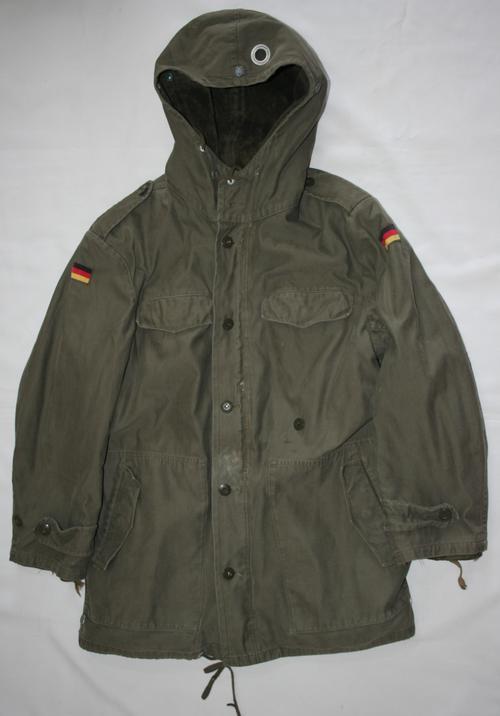 German parka army jacket