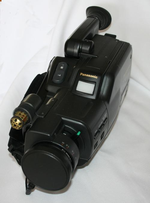 Other Video Cameras - Vintage Panasonic Nv-mc20 Video Camera Vhs-c