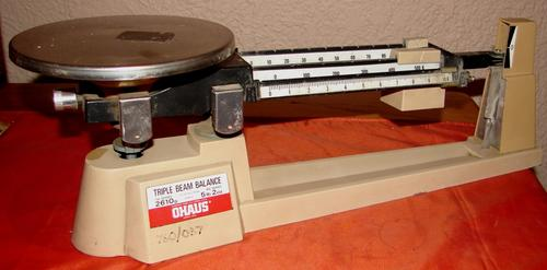 Scales Amp Weights Vintage Ohaus Triple Beam Balance 700