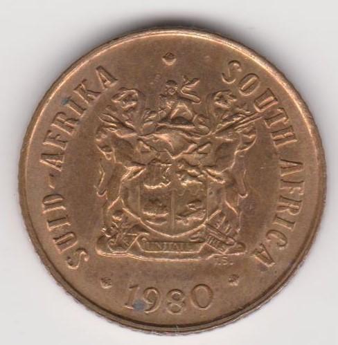 One Cent - 1980 Error coin - 1 cent - Slight off centre ...