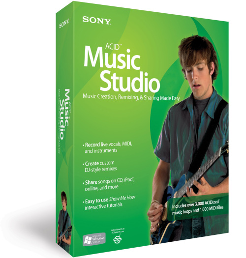 Music Software Sony Acid Music Studio 7 Was Sold For