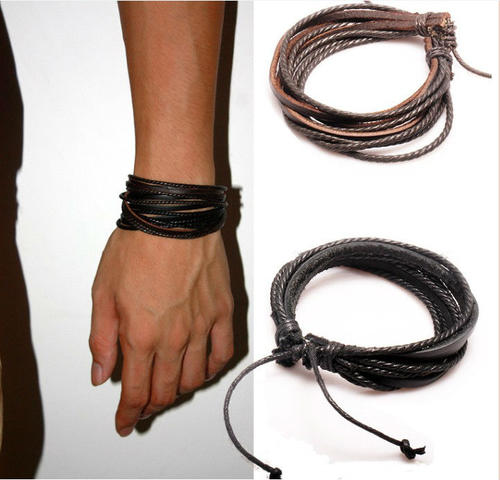 unisex accessories illinois in dark brown itasca bracelet leathergoods