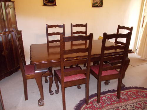 Other Furniture Imbuia Ball And Claw Dining Room Set Was