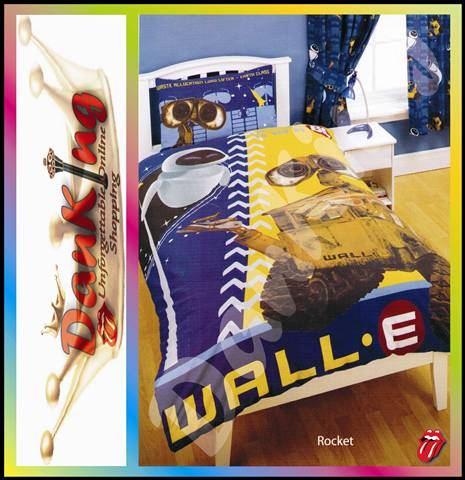 Wall E Duvet Set Single Or Three Quarter Bed Kids Linen