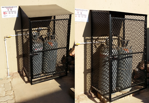 gas bottle cages - Gas Cylinder Cages