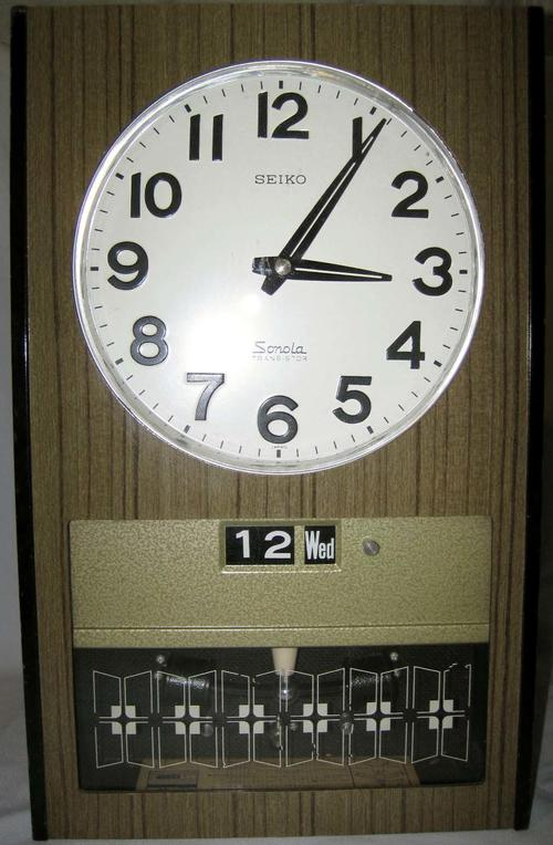 Cuckoo Amp Wall Clocks Vintage Seiko Sonola Transitor Wall