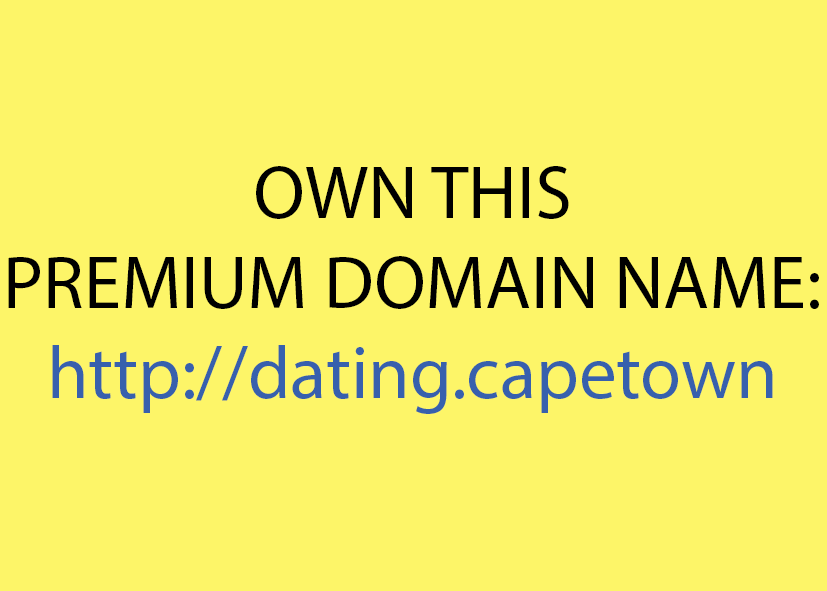 domain names   domain name dating capetown own this premium