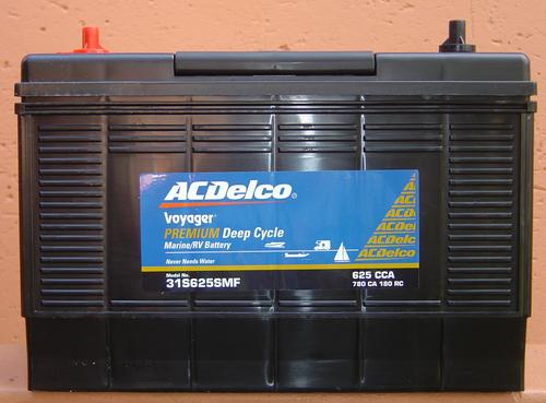 4x4 Accessories Ac Delco Voyager Deep Cycle Battery New