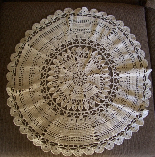 Other Furniture Crochet Doily Tablecloth Was Listed For On 27 Sep At 15 01 By Adoy In