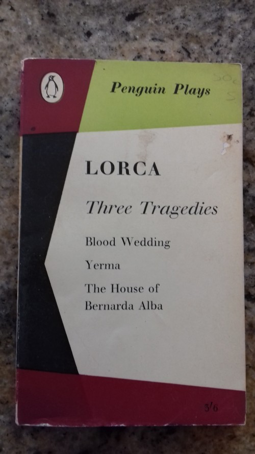 Other Antiquarian Collectable Three Tragedies Blood Wedding