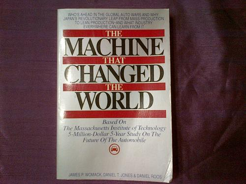 The Machine That Changed The World Book