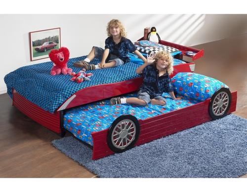 single car bed with mattress 2