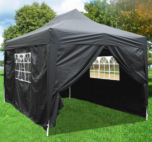Hazlo Pop Up Gazebo Tent With Sides (Black Green and White Availalbe) & Marquees u0026 Gazebos - Hazlo Pop Up Gazebo Tent With Sides (Black ...