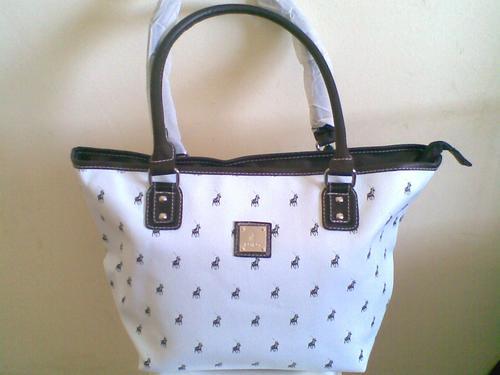 Original Polo Handbag White