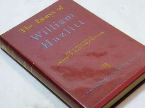 Biographies & Memoirs - The Essays of William Hazlitt - 1949 edition ...