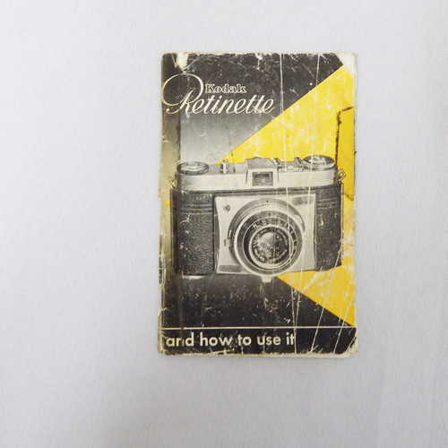 Kodak retinette instructions