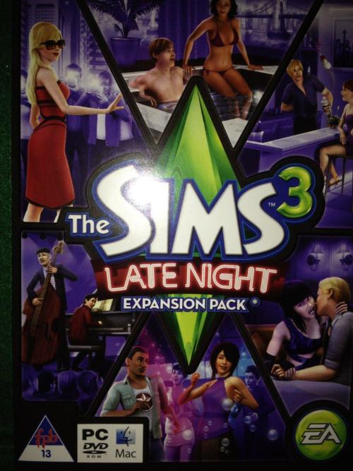 games pc the sims 3 late night expansion pack was. Black Bedroom Furniture Sets. Home Design Ideas