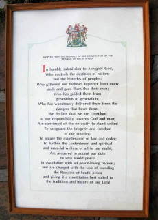 Documents Framed Print Adopted From The Preamble Of