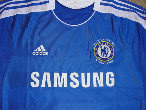 the best attitude 7e2b1 72693 Chelsea FC 2012 - 'Didier Drogba' Autographed / signed Home Jersey with LOA  SALE! | bidorbuy.co.za