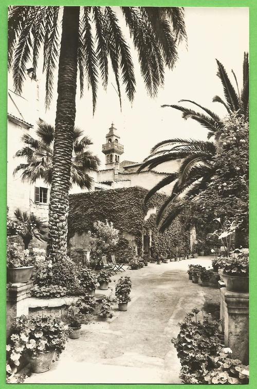 Baños Arabes Mallorca:Post Cards – Post Card – Jardin Banos Arabes – Mallorca (Casa Planas