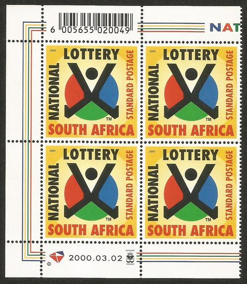 Republic of South Africa - RSA. SACC1252. National Lottery. was sold for R10.00 on 16 May at 21 ...