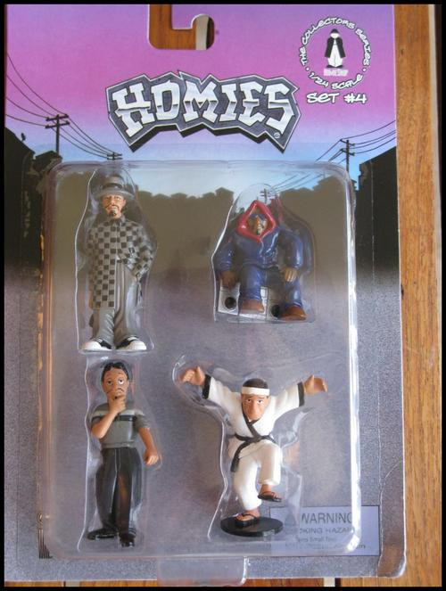 Other Action Figures Homies Set 4 Collectable David