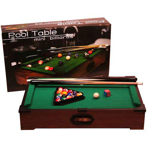 Other Toys Excellent Quality Kids Tabletop Pool Table Was Sold For - Mini billiards table set