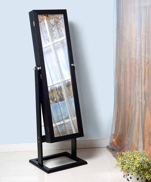 Superbe FULL LENGTH DRESSING JEWELLERY CABINET WITH MIRROR