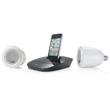 other audio visual accessories wireless lightbulb speaker set was. Black Bedroom Furniture Sets. Home Design Ideas