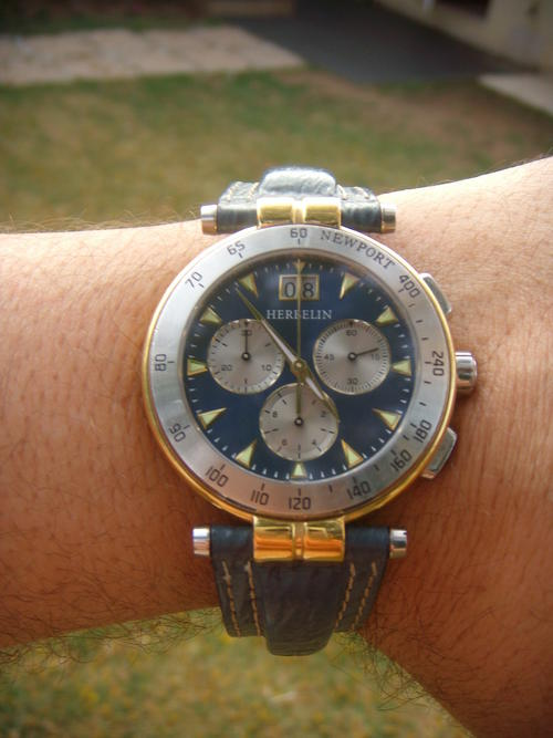 men 39 s watches michel herbelin newport chronograph no