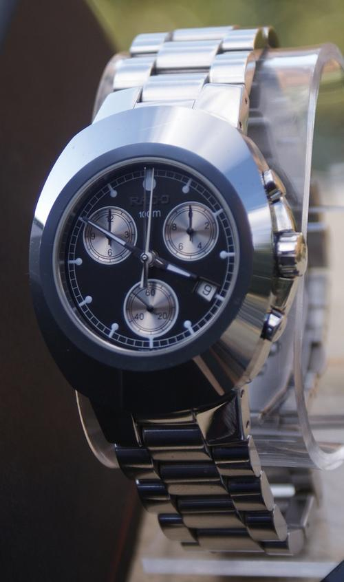 Men S Watches Rado Diastar Mint Titanium Mens Timepiece