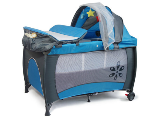 Cots Baby Cot Crib With Diaper Changer Net Toys