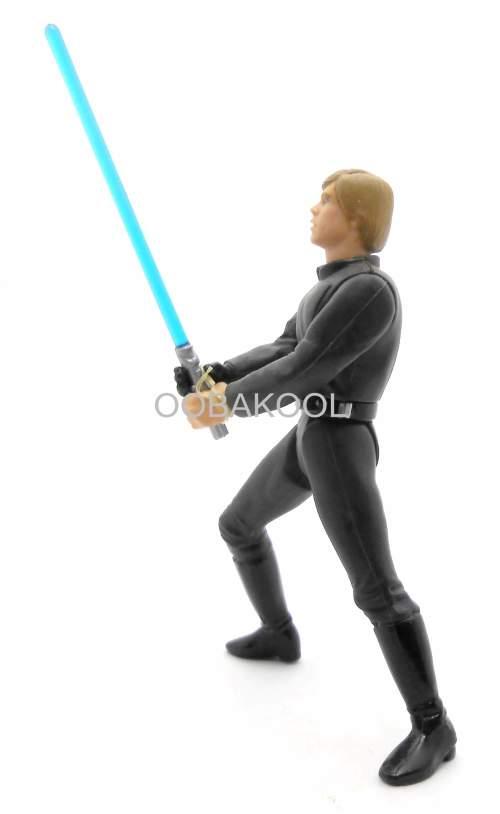 """LUKE SKYWALKER - FINAL JEDI DUEL / 1997 STAR WARS 4"""" THE POWER OF THE FORCE / OobaKool Star Wars"""