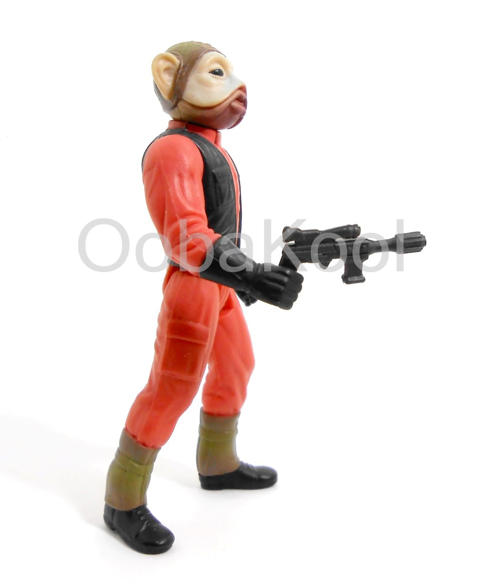 STAR WARS / NIEN NUNB - BATTLE OF ENDOR / 1997 HASBRO 3.75 INCH ACTION FIGURE / POTF / OobaKool