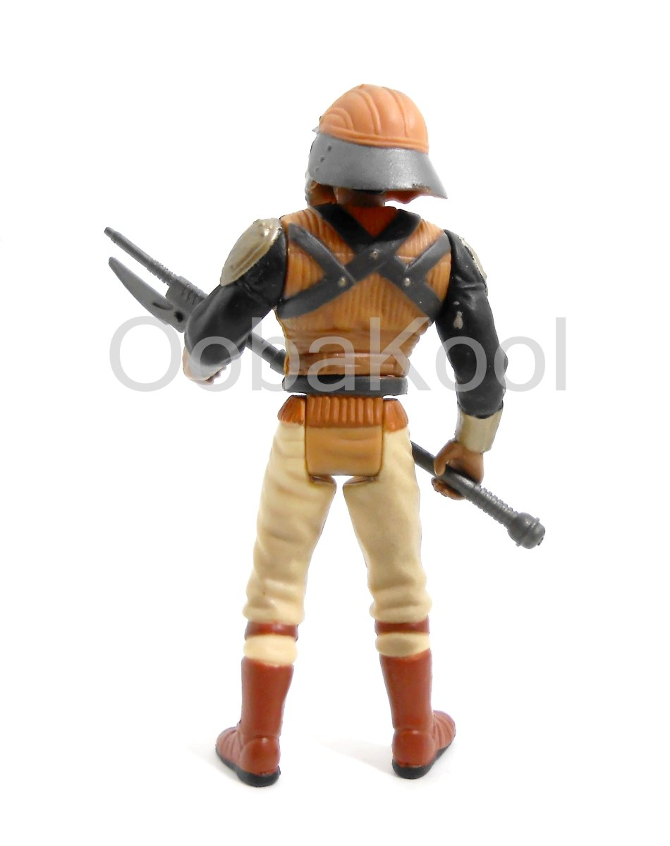 STAR WARS / LANDO CALRISSIAN - SKIFF GUARD / 1997 HASBRO 3.75 INCH ACTION FIGURE / POTF / OobaKool