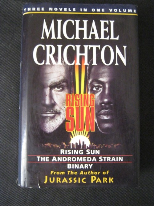 crichton essay michael rising sun Ising sun, michael crichton's 1992 follow up to his blockbuster novel, jurassic park, was a detective thriller with a difference – one examining  years after the release of rising sun  he was a superb composer and the complete rising sun is one of his great achieve - ments — bruce kimmel rising sun.