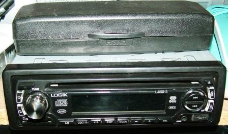 Other Audio Electronics Logik Front Loader Car Radio Usb Port