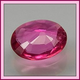 Tourmaline Pink Oval 0.65ct