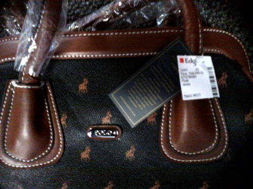 Polo Handbag Edgars Brand New