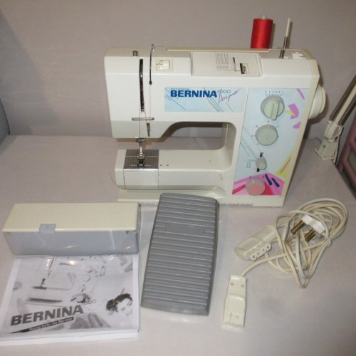how to tell age of bernina sewing machine