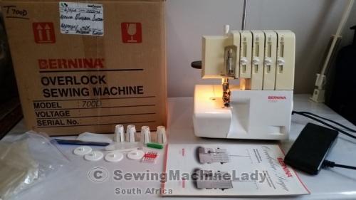 bernina 800dl overlocker threading instructions