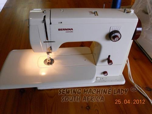 Sewing Machines Overlockers BERNINA MINIMATIC 40 SWISS SEWING Simple Bernina 807 Sewing Machine