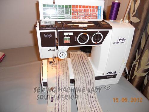 Sewing Machines Overlockers ELNA STELLA TSP SWISS SEWING MACHINE Classy Elna Air Electronic Tsp Sewing Machine Manual
