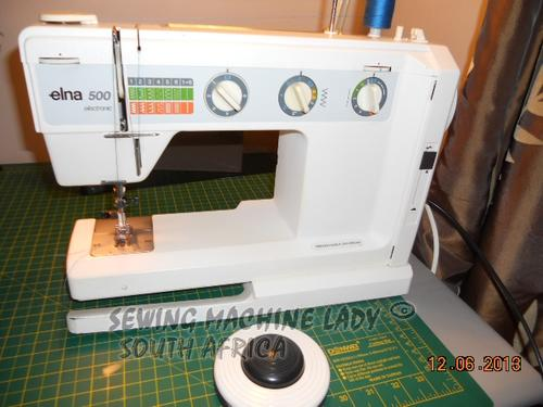 Sewing Machines Overlockers ELNA 40 AIR ELECTRONIC MODEL TSP Mesmerizing Elna Sewing Machine Models