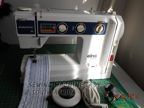 Sewing Machines Overlockers ELNA SU AIR ELECTRONIC SWISS SEWING Classy Elna Su Sewing Machine