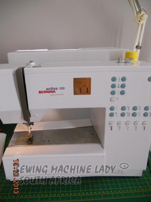 Sewing Machines Overlockers BERNINA ACTIVA 40 SWISS MADE SEWING Enchanting Bernina Activa 130 Sewing Machine