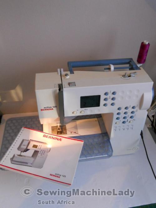 BERNINA ACTIVA 125 SEWING MACHINE