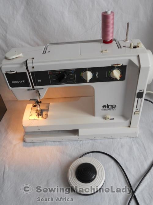 Sewing Machines Overlockers ELNA CARINA SU AIR ELECTRONIC Best Elna Carina Sewing Machine